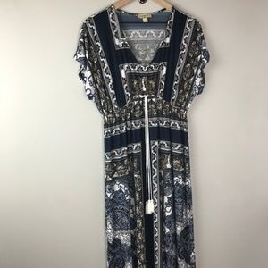 One world Live & let live Maxi dress size L